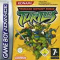 Teenage Mutant Ninja Turtles Game Boy Advance Front Cover