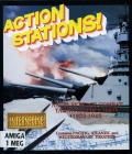 Action Stations! Amiga Front Cover