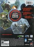 Crysis Windows Back Cover