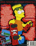 The Simpsons: Bart vs. the Space Mutants Atari ST Back Cover