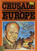 Crusade in Europe Commodore 64 Front Cover