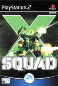 X Squad PlayStation 2 Front Cover
