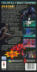 Rise of the Robots 3DO Back Cover