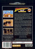 Indiana Jones and the Last Crusade: The Action Game Genesis Back Cover