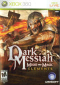 Dark Messiah: Might and Magic - Elements Xbox 360 Front Cover