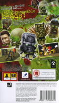 Dead Head Fred PSP Back Cover