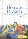 Double Dragon SEGA Master System Front Cover