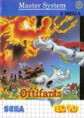 The Ottifants SEGA Master System Front Cover