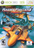 Raiden Fighters Aces Xbox 360 Front Cover