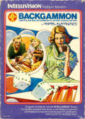 ABPA Backgammon Intellivision Front Cover