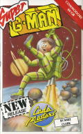 Super G-Man Commodore 64 Front Cover