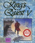 King's Quest V: Absence Makes the Heart Go Yonder! Amiga Front Cover