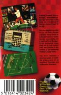 Graeme Souness Soccer Manager Commodore 64 Back Cover