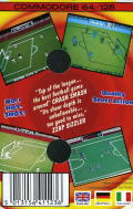 Match Day II Commodore 64 Back Cover