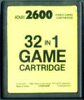32 in 1 Game Cartridge Atari 2600 Media
