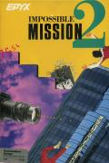Impossible Mission II Amiga Front Cover