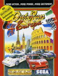 OutRun Europa Commodore 64 Front Cover