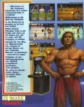 Pit-Fighter Amiga Back Cover