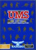 UMS: The Universal Military Simulator Amiga Front Cover