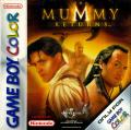 The Mummy Returns Game Boy Color Front Cover