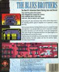 The Blues Brothers Amiga Back Cover