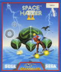 Space Harrier II Amiga Front Cover
