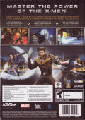 X-Men: The Official Game Windows Back Cover