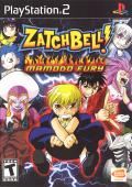 Zatch Bell! Mamodo Fury PlayStation 2 Front Cover