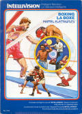 Boxing Intellivision Front Cover