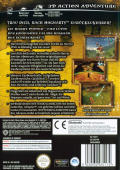 Harry Potter and the Chamber of Secrets GameCube Back Cover
