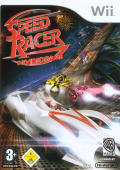 Speed Racer: The Videogame Wii Front Cover