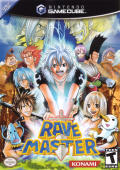 Rave Master GameCube Front Cover