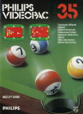 Pocket Billiards! Odyssey 2 Front Cover