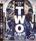 Army of Two PlayStation 3 Front Cover