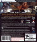 F.E.A.R. 2: Project Origin PlayStation 3 Other Keep Case - Back