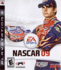 NASCAR 09 PlayStation 3 Front Cover