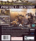 Transformers: The Game PlayStation 3 Back Cover