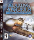 Blazing Angels: Squadrons of WWII PlayStation 3 Front Cover