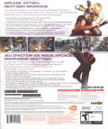 Time Crisis 4 PlayStation 3 Back Cover