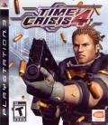 Time Crisis 4 PlayStation 3 Other Keep Case - Front