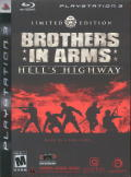 Brothers in Arms: Hell's Highway (Limited Edition) PlayStation 3 Front Cover