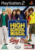 High School Musical: Sing It! PlayStation 2 Front Cover