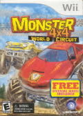Monster 4x4: World Circuit Wii Front Cover