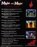 Might and Magic Trilogy DOS Back Cover