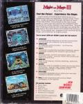 Might and Magic III: Isles of Terra DOS Back Cover