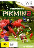 Pikmin 2 Wii Front Cover Reversed