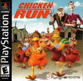 Chicken Run PlayStation Front Cover
