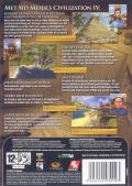 Sid Meier's Civilization IV Windows Other Keep Case - Back