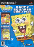 SpongeBob SquarePants: Happy Squared Double Pack PlayStation 2 Front Cover