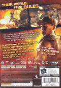 50 Cent: Blood on the Sand Xbox 360 Back Cover